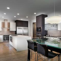 Kitchen for Alessio Interiors by Detroit architectural photographer Don Schulte